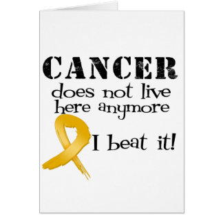 Appendix Cancer Does Not Live Here Anymore Cards