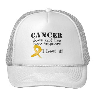 Appendix Cancer Does Not Live Here Anymore Mesh Hat