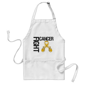 Appendix Cancer Fight Boxing Gloves Apron