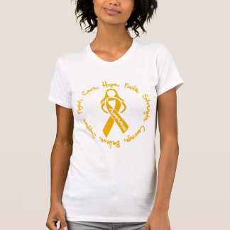 Appendix Cancer  Fight Cure Hope Logo Tank