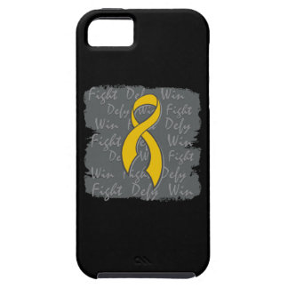 Appendix Cancer Fight Defy Win iPhone 5 Covers