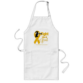 Appendix Cancer Fight Like A Girl Knock Out Aprons