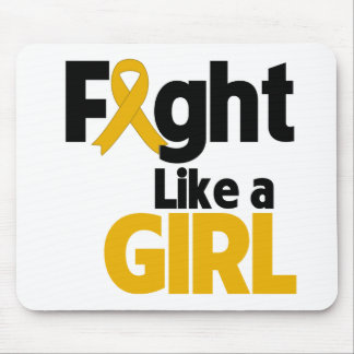 Appendix Cancer Fight Like a Girl Mousepads