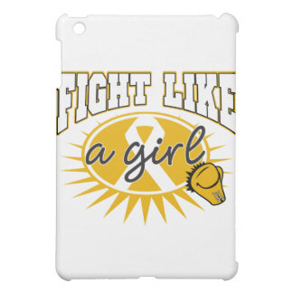 Appendix Cancer Fight Like A Girl Sporty Callout Case For The iPad Mini