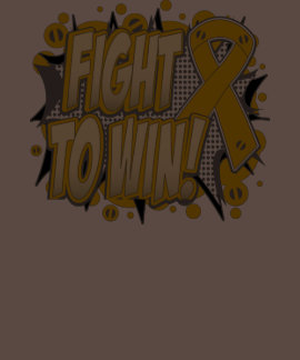 Appendix Cancer Fight To Win T-shirts