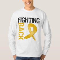 Appendix Cancer Fighting Back T-Shirt