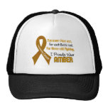 Appendix Cancer For Every…..I Proudly Wear Amber 1 Trucker Hat