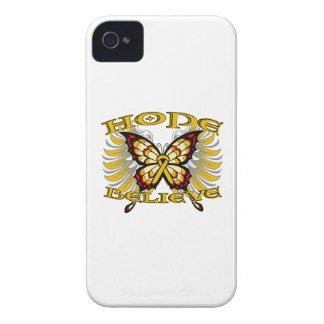 Appendix Cancer Hope Believe Butterfly Blackberry Bold Cover
