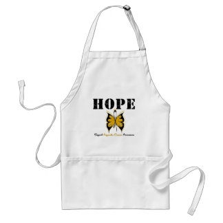 Appendix Cancer HOPE Butterfly Apron