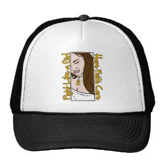 Appendix Cancer Hope Fight Like A Girl Trucker Hat