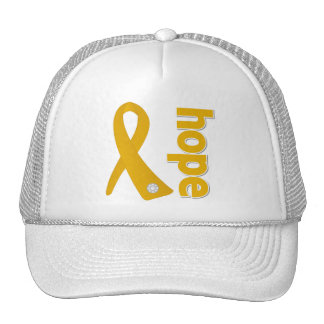 Appendix Cancer Hope Ribbon Trucker Hat