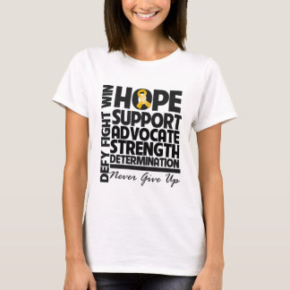 Appendix Cancer Hope Support Advocate T-Shirt