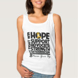 Appendix Cancer Hope Support Advocate Tank Top