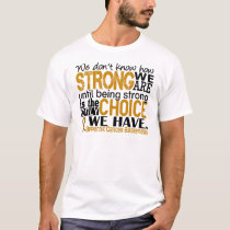 Appendix Cancer How Strong We Are T-Shirt