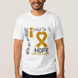 Appendix Cancer I Hold On To Hope Tee Shirts