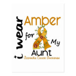 Appendix Cancer I Wear Amber For My Aunt 43 Post Cards