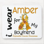 Appendix Cancer I Wear Amber For My Boyfriend 43 Mouse Pads