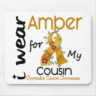 Appendix Cancer I Wear Amber For My Cousin 43 Mouse Pad