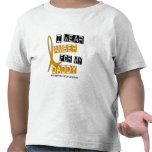 APPENDIX CANCER I Wear Amber For My Daddy 37 T-shirt