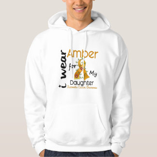 Appendix Cancer I Wear Amber For My Daughter 43 Hoody