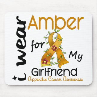 Appendix Cancer I Wear Amber For My Girlfriend 43 Mouse Pad