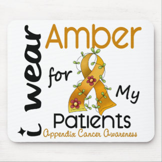 Appendix Cancer I Wear Amber For My Patients 43 Mouse Pad