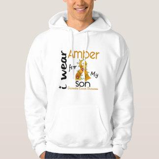 Appendix Cancer I Wear Amber For My Son 43 Sweatshirt