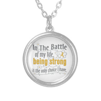 Appendix Cancer In The Battle Custom Necklace