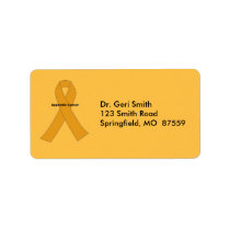 Appendix Cancer Label