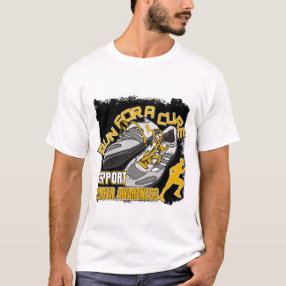 Appendix Cancer - Men Run For A Cure T-Shirt