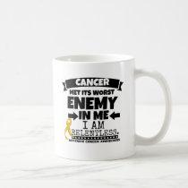 Appendix Cancer Met Its Worst Enemy in Me Coffee Mug