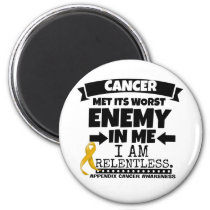 Appendix Cancer Met Its Worst Enemy in Me Magnet