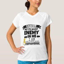 Appendix Cancer Met Its Worst Enemy in Me T-Shirt