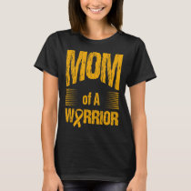 Appendix Cancer Mom Of Warrior Autism Awareness T-Shirt