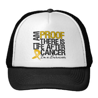 Appendix Cancer Proof There is Life After Cancer Hat