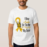 Appendix Cancer Ribbon Hero My Sister T-Shirt