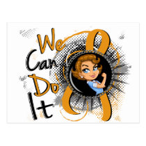Appendix Cancer Rosie Cartoon WCDI Postcard