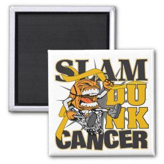 Appendix Cancer - Slam Dunk Cancer Fridge Magnet