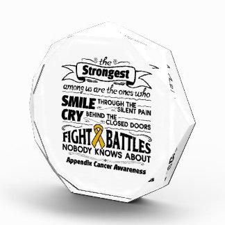 Appendix Cancer Strongest Among Us Award