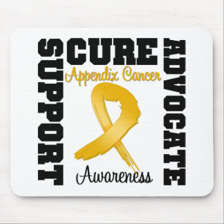 Appendix Cancer Support Advocate Cure Mouse Pad