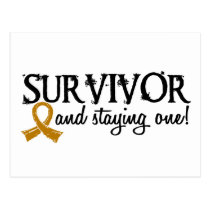 Appendix Cancer Survivor 18 Postcard