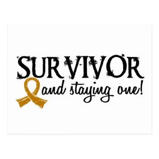 Appendix Cancer Survivor 18 Postcard