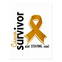 Appendix Cancer Survivor 19 Postcard