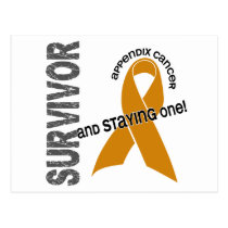 Appendix Cancer Survivor 1 Postcard
