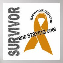 Appendix Cancer Survivor 1 Poster