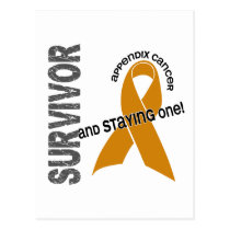 Appendix Cancer Survivor Postcard