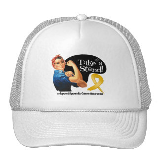 Appendix Cancer Take a Stand Hat