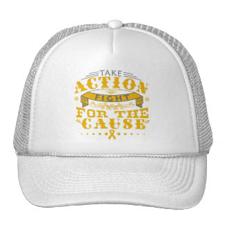 Appendix Cancer Take Action Fight For The Cause Mesh Hat