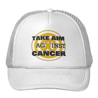 Appendix Cancer Take Aim Against Cancer Trucker Hat