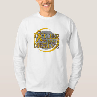 Appendix Cancer Together We Make A Difference T-Shirt